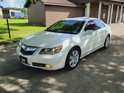 2009 Acura RL for sale at MOTORSPORTS IMPORTS in Houston TX