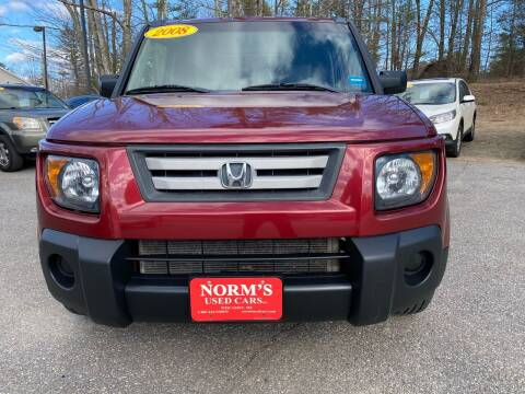 2008 Honda Element for sale at NORM'S USED CARS INC - Trucks By Norm's in Wiscasset ME