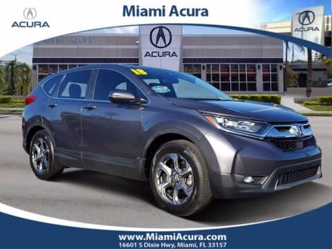 2018 Honda CR-V for sale at MIAMI ACURA in Miami FL
