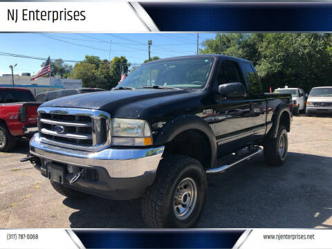 2003 Ford F-250 Super Duty for sale at NJ Enterprises in Indianapolis IN