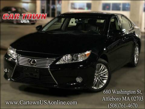 2014 Lexus ES 350 for sale at Car Town USA in Attleboro MA