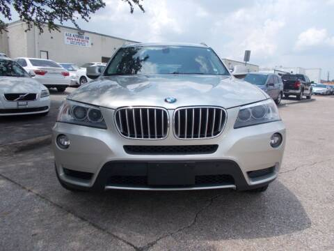 2011 BMW X3 for sale at ACH AutoHaus in Dallas TX
