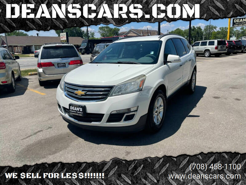 2013 Chevrolet Traverse for sale at DEANSCARS.COM in Bridgeview IL
