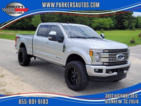 2019 Ford F-250 Super Duty for sale at Parker's Used Cars in Blenheim SC