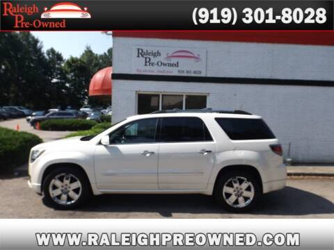 2013 GMC Acadia for sale at Raleigh Pre-Owned in Raleigh NC