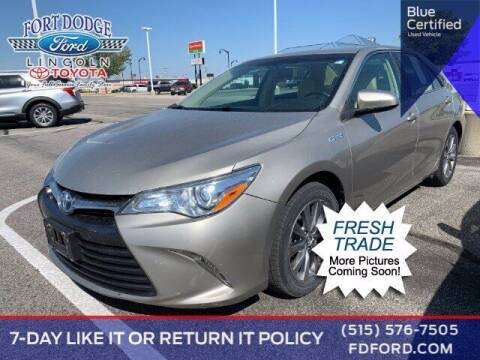 2015 Toyota Camry Hybrid for sale at Fort Dodge Ford Lincoln Toyota in Fort Dodge IA