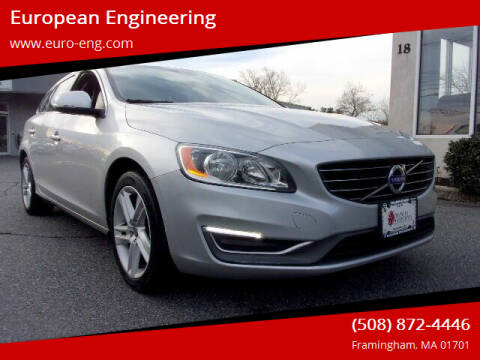2015 Volvo V60 for sale at European Engineering in Framingham MA
