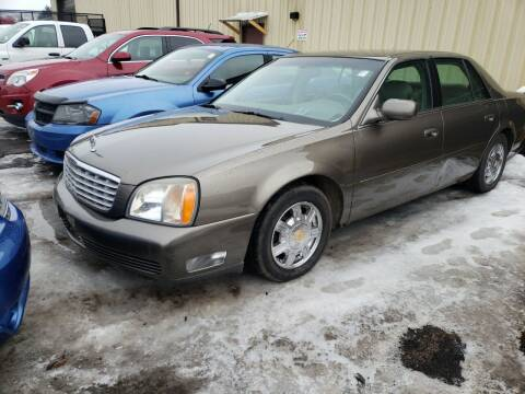 2001 Cadillac DeVille for sale at Hy-Way Sales Inc in Kenosha WI