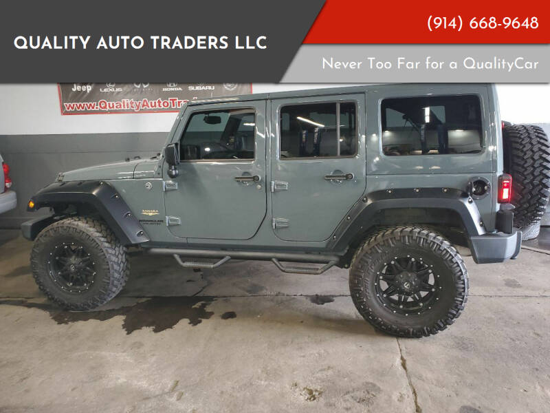 2015 Jeep Wrangler Unlimited for sale at Quality Auto Traders LLC in Mount Vernon NY