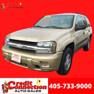 2004 Chevrolet TrailBlazer for sale at Credit Connection Auto Sales in Midwest City OK
