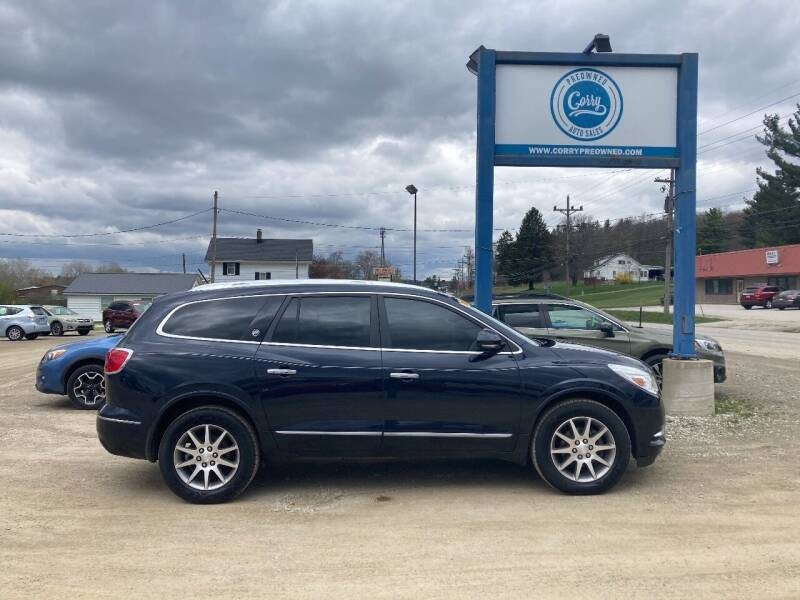 2015 Buick Enclave for sale at Corry Pre Owned Auto Sales in Corry PA