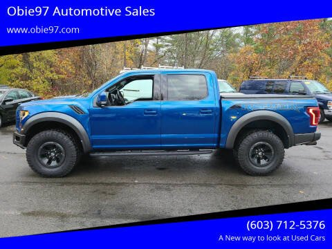 2018 Ford F-150 for sale at Obie97 Automotive Sales in Londonderry NH
