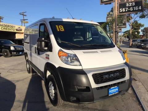 2019 RAM ProMaster Cargo for sale at Sanmiguel Motors in South Gate CA