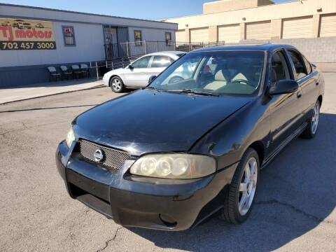 2003 Nissan Sentra for sale at TJ Motors in Las Vegas NV