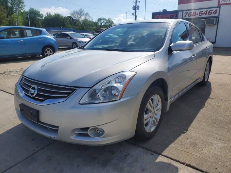 2012 Nissan Altima for sale at Quallys Auto Sales in Olathe KS