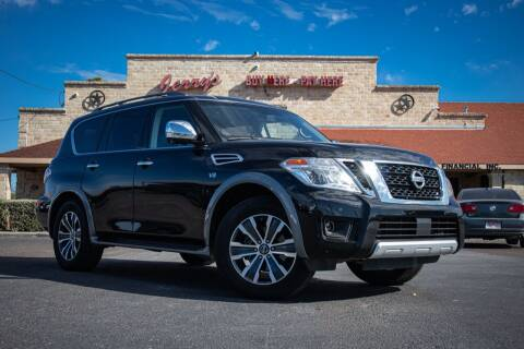 2017 Nissan Armada for sale at Jerrys Auto Sales in San Benito TX