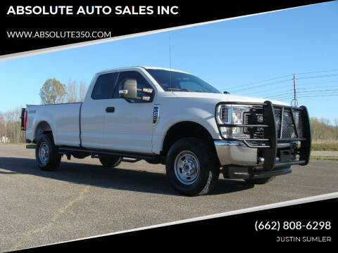 2018 Ford F-250 Super Duty for sale at ABSOLUTE AUTO SALES INC in Corinth MS