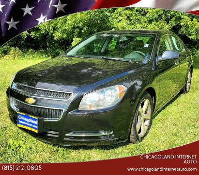 2012 Chevrolet Malibu for sale at Chicagoland Internet Auto - 410 N Vine St New Lenox IL, 60451 in New Lenox IL