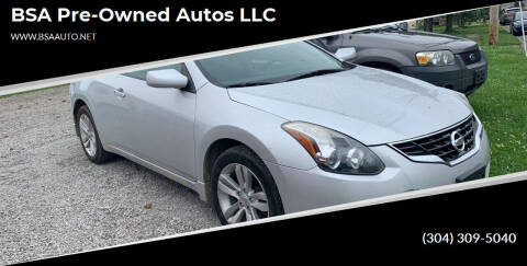 2011 Nissan Altima for sale at BSA Pre-Owned Autos LLC in Hinton WV