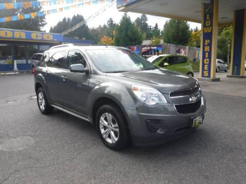 2012 Chevrolet Equinox for sale at Brooks Motor Company, Inc in Milwaukie OR