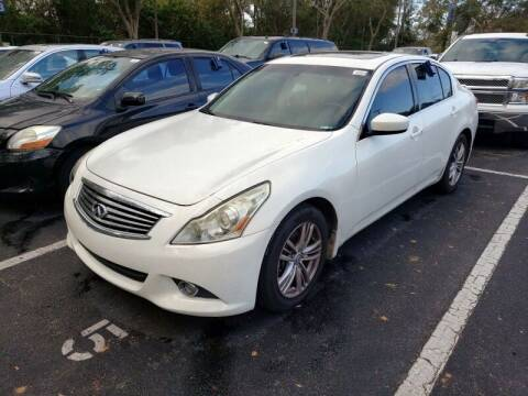 2010 Infiniti G37 Sedan for sale at JacksonvilleMotorMall.com in Jacksonville FL