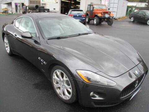 2009 Maserati GranTurismo for sale at Route 4 Motors INC in Epsom NH