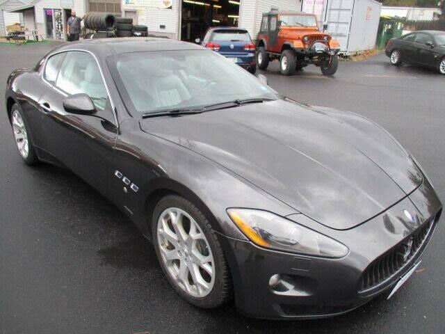 2009 Maserati GranTurismo for sale at Route 4 Motors INC in Epsom NH
