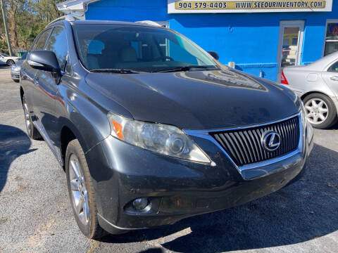 2010 Lexus RX 350 for sale at The Peoples Car Company in Jacksonville FL