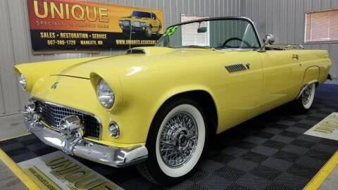 1955 Ford Thunderbird for sale at UNIQUE SPECIALTY & CLASSICS in Mankato MN