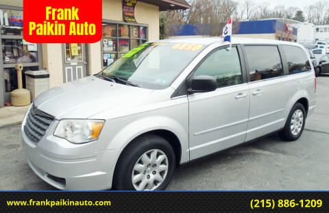 2009 Chrysler Town and Country for sale at Frank Paikin Auto in Glenside PA