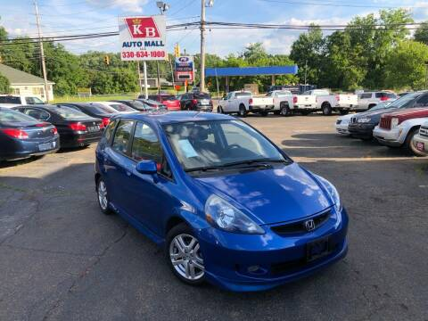 2007 Honda Fit for sale at KB Auto Mall LLC in Akron OH