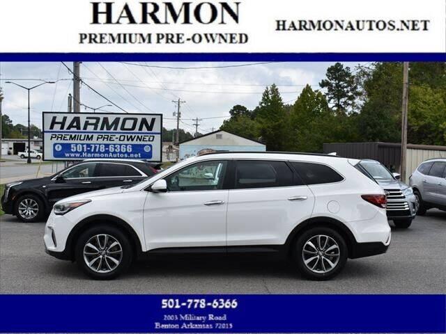 2017 Hyundai Santa Fe for sale at Harmon Premium Pre-Owned in Benton AR