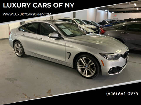 2018 BMW 4 Series for sale at LUXURY CARS OF NY in Queens NY