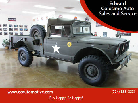 1967 Jeep J-20 Pickup for sale at Edward Colosimo Auto Sales and Service in Evans City PA