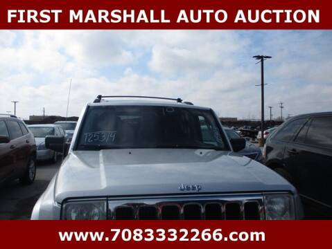 2010 Jeep Commander for sale at First Marshall Auto Auction in Harvey IL