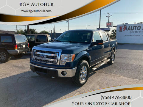 2013 Ford F-150 for sale at RGV AutoHub in Harlingen TX