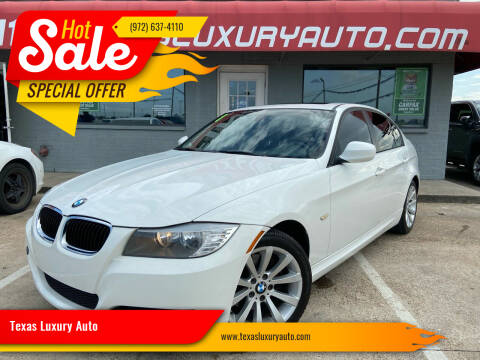 2011 BMW 3 Series for sale at Texas Luxury Auto in Cedar Hill TX