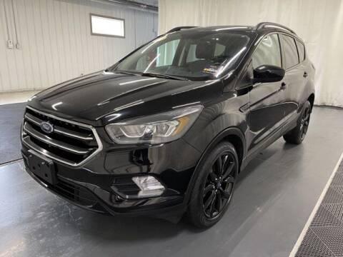 2017 Ford Escape for sale at Monster Motors in Michigan Center MI