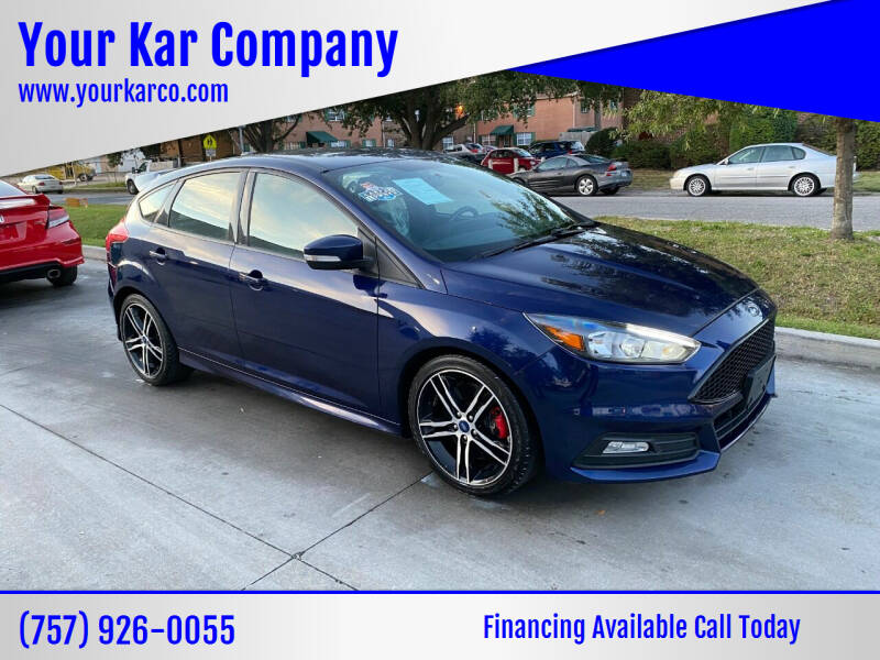 2017 Ford Focus for sale at Your Kar Company in Norfolk VA
