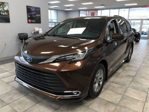 2021 Toyota Sienna for sale at White's Honda Toyota of Lima in Lima OH
