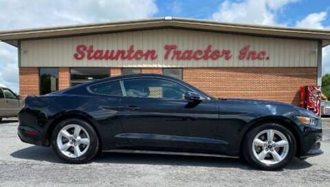 2016 Ford Mustang for sale at STAUNTON TRACTOR INC in Staunton VA
