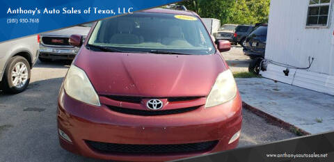 2006 Toyota Sienna for sale at Anthony's Auto Sales of Texas, LLC in La Porte TX