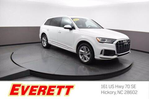 2020 Audi Q7 for sale at Everett Chevrolet Buick GMC in Hickory NC