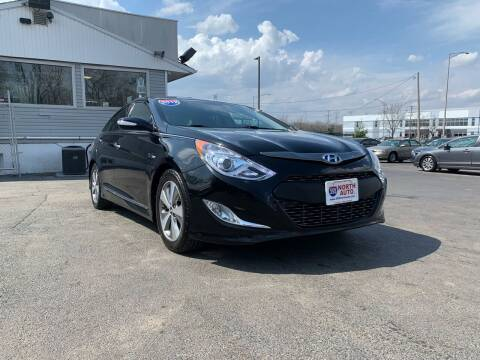 2012 Hyundai Sonata Hybrid for sale at 355 North Auto in Lombard IL