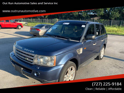 2006 Land Rover Range Rover Sport for sale at Out Run Automotive Sales and Service Inc in Tampa FL