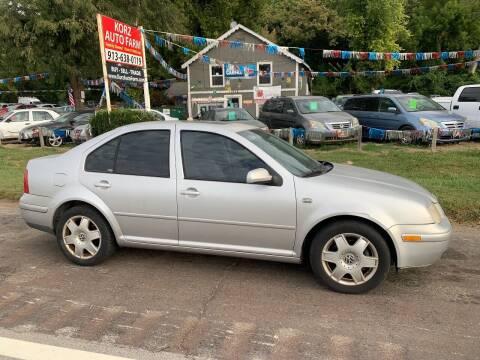 2001 Volkswagen Jetta for sale at Korz Auto Farm in Kansas City KS