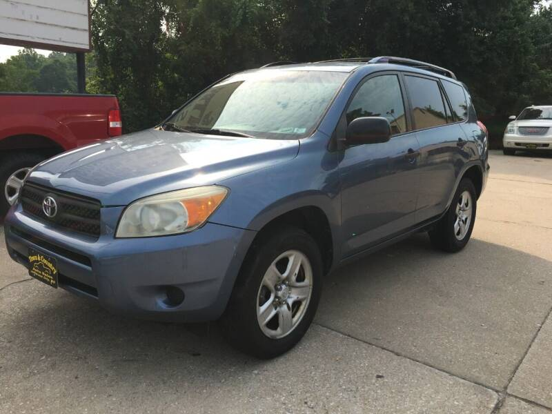 2007 Toyota RAV4 for sale at Town and Country Auto Sales in Jefferson City MO