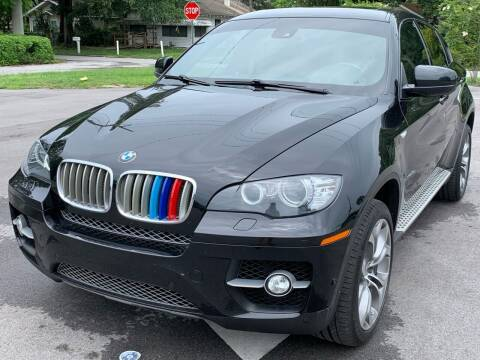 2012 BMW X6 for sale at Consumer Auto Credit in Tampa FL