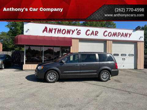 2015 Chrysler Town and Country for sale at Anthony's Car Company in Racine WI
