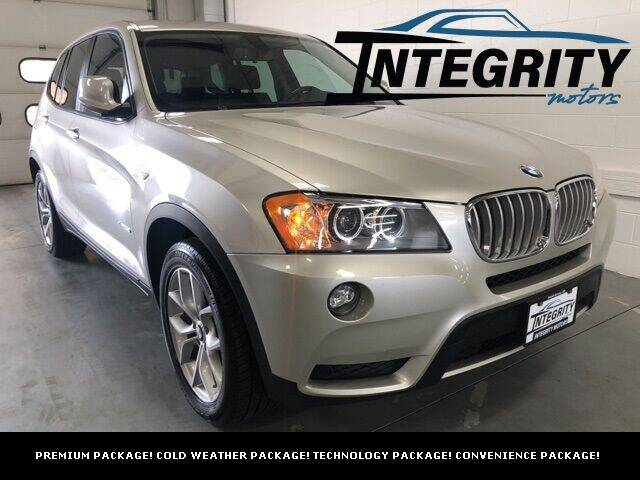 2013 BMW X3 for sale at Integrity Motors, Inc. in Fond Du Lac WI